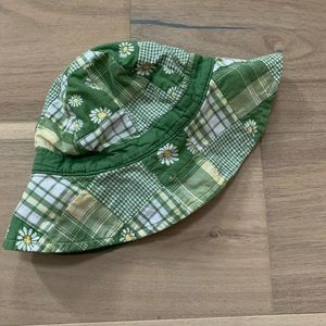 Janie & Jack Girls 6-12 Mo Hat Floral Bucket Daisy